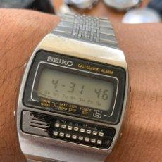 Relógios - Seiko: RELOJ COLECCIÓN VINTAGE SEIKO C359-5000 CALCULATOR-ALARM TODO ORIGINAL JAPAN. Lote 264174644