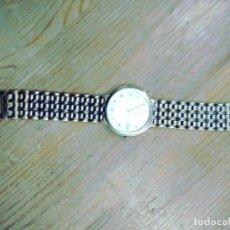 Relojes - Seiko: RELOJ PULSERA SEIKO QUARTZ. NO FUNCIONA. USO. CAJA MEDALLAS. Lote 265808759