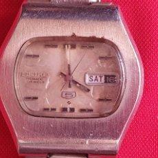 Relojes - Seiko: RELOJ SEIKO AUTOMATIC FUNCIONA. MIDE 36.9 MM DIAMETRO. Lote 268842869