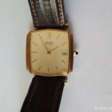 Relojes - Seiko: RELOJ SEIKO MODELO 6429-5180 R QUARTZ 1980 ORO CHAPADO.. Lote 268878404