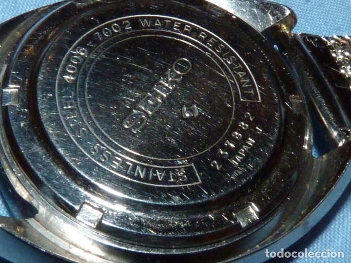 Relojes - Seiko: RELOJ SEIKO BELL-MATIC AUTOMATICO DESPERTADOR 4006-7002 JAPAN VINTAGE 1972 - Foto 5 - 270375383