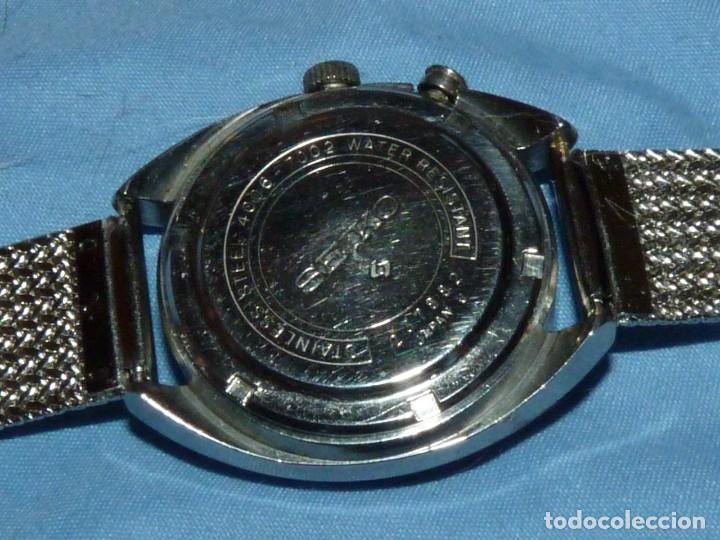 Relojes - Seiko: RELOJ SEIKO BELL-MATIC AUTOMATICO DESPERTADOR 4006-7002 JAPAN VINTAGE 1972 - Foto 6 - 270375383