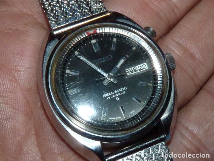 Relojes - Seiko: RELOJ SEIKO BELL-MATIC AUTOMATICO DESPERTADOR 4006-7002 JAPAN VINTAGE 1972 - Foto 7 - 270375383