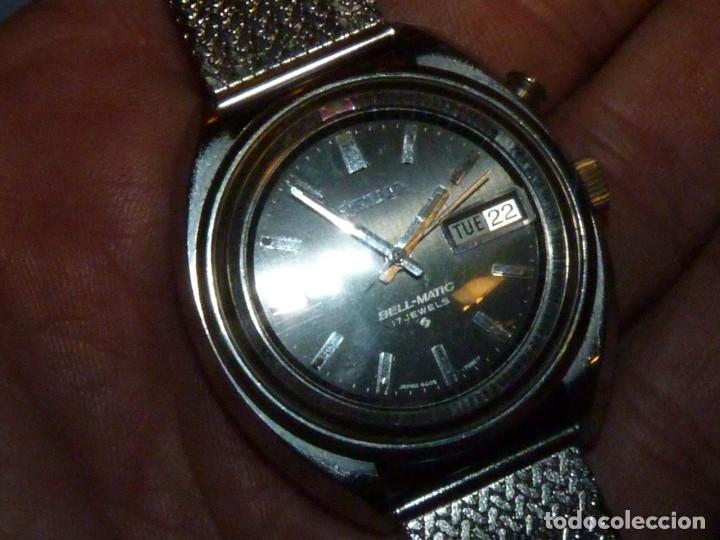 Relojes - Seiko: RELOJ SEIKO BELL-MATIC AUTOMATICO DESPERTADOR 4006-7002 JAPAN VINTAGE 1972 - Foto 8 - 270375383