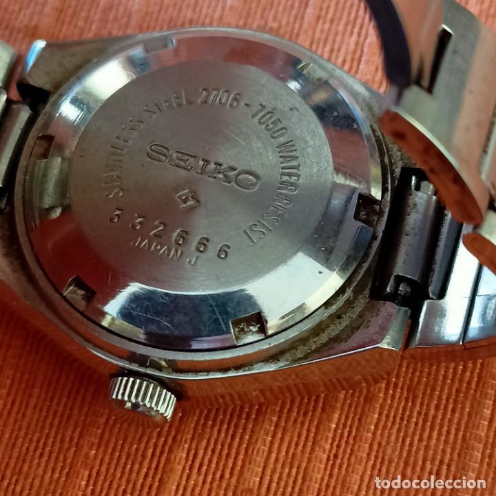 Relojes - Seiko: Seiko 2706-7050 automátic 21 jewells Hi-beat Día/Fecha De Señora funcionando - Foto 6 - 272076468