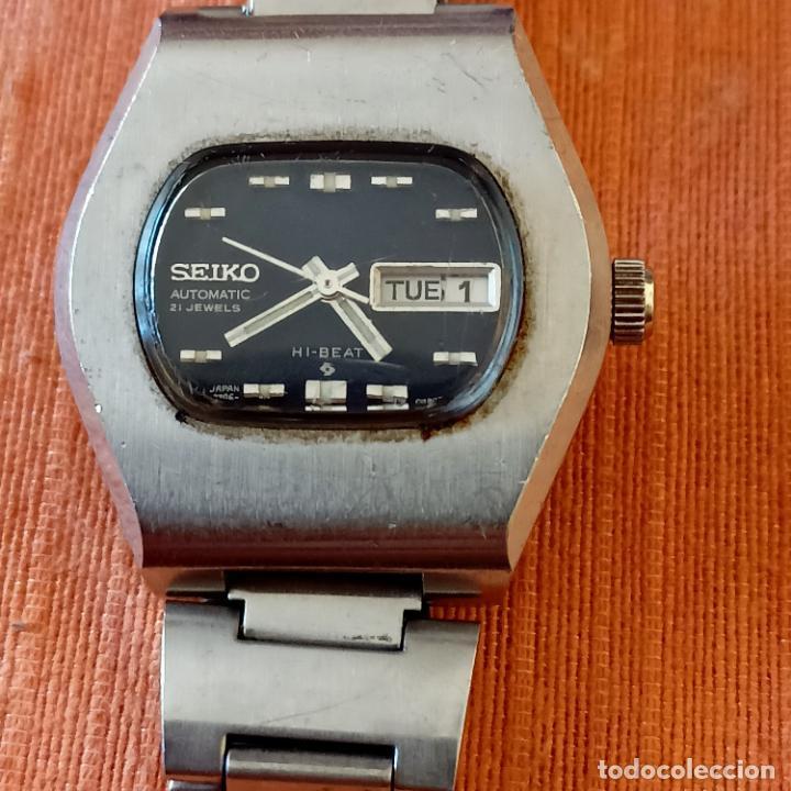 SEIKO 2706-7050 AUTOMÁTIC 21 JEWELLS HI-BEAT DÍA/FECHA DE SEÑORA FUNCIONANDO (Relojes - Relojes Actuales - Seiko)