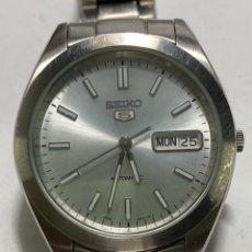 Relógios - Seiko: RELOJ SEIKO AUTOMÁTICO ACERO COMPLETO MODELO 7S26-0420 A4 EN FUNCIONAMIENTO. Lote 272478038