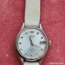 Relojes - Seiko: RELOJ DE SEÑORA VINTAGE AUTOMATICO SEIKO HI-BEAT 21 JEWELS AÑOS 70 FUNCIONANDO. Lote 273970733