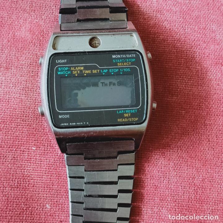 Relojes - Seiko: 1970 SEIKO A159-5019-G LCD Cuarzo Reloj Japón para piezas - Foto 5 - 273979958