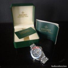 Relojes - Seiko: RELOJ SEIKO KINETIC SPORTS 200 AÑO 2006 CALIBRE 40 MM CAJA ORIGINAL DOCUMENTACION Y GARANTIA. Lote 275878193
