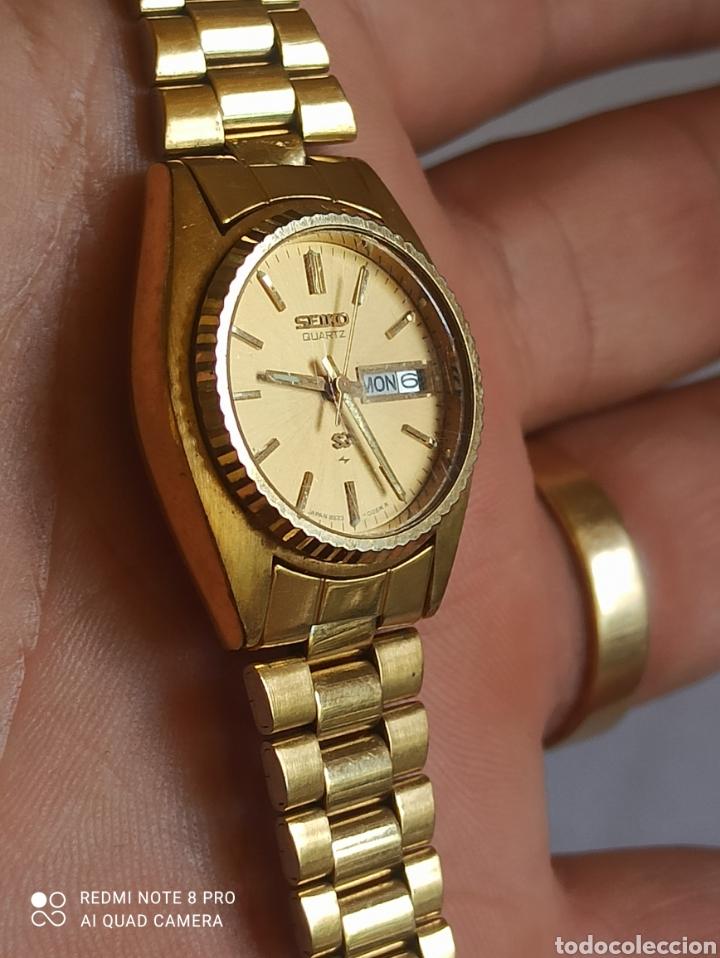 Relojes - Seiko: Reloj mujer Seiko dorado vintage - Foto 2 - 280898838