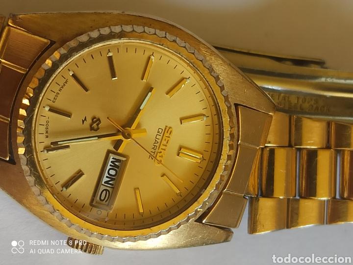 Relojes - Seiko: Reloj mujer Seiko dorado vintage - Foto 4 - 280898838