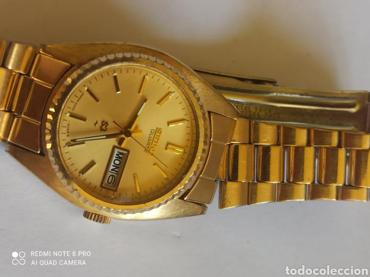 Relojes - Seiko: Reloj mujer Seiko dorado vintage - Foto 5 - 280898838