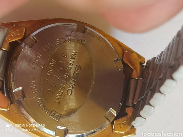 Relojes - Seiko: Reloj mujer Seiko dorado vintage - Foto 11 - 280898838