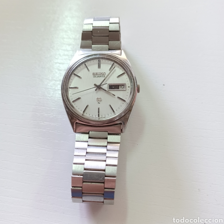 RELOJ SEIKO QUARTZ DE ACERO SIN COMPROBAR FUNCIONAMIENTO (Relojes - Relojes Actuales - Seiko)