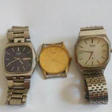 Relógios - Seiko: RELOJ SEIKO DE CUARZO LOTE DE TRES. Lote 284470998