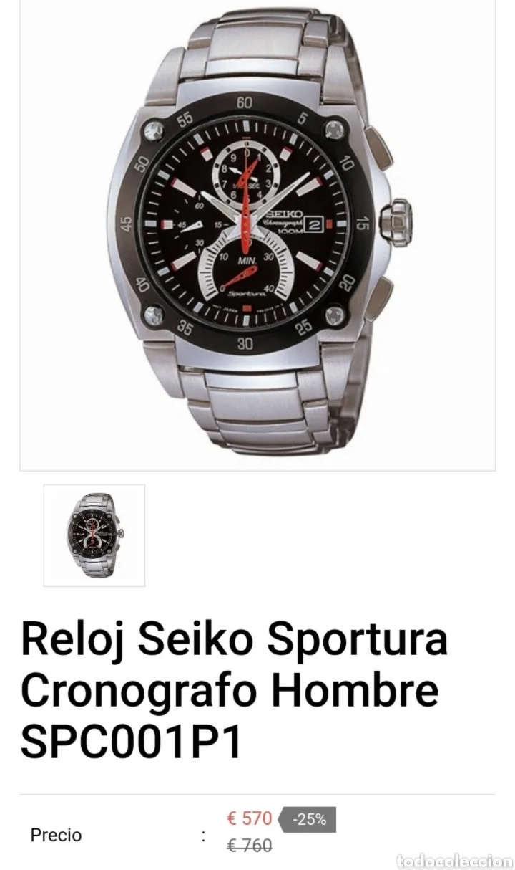Relojes - Seiko: Seiko sportura cronografo - Foto 4 - 285343573