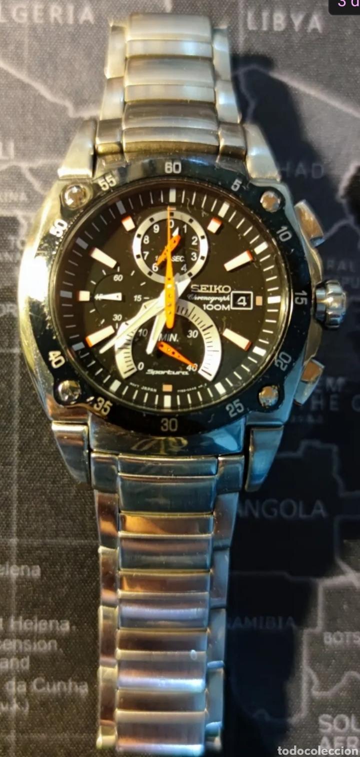 Relojes - Seiko: Seiko sportura cronografo - Foto 5 - 285343573