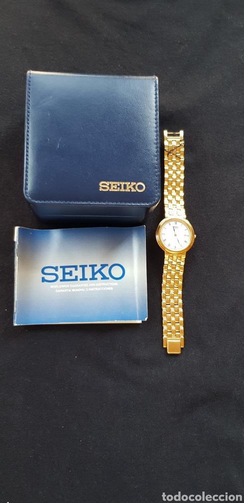 Relojes - Seiko: Reloj Seiko,hombre,armys chapado,a estrenar - Foto 2 - 285351948