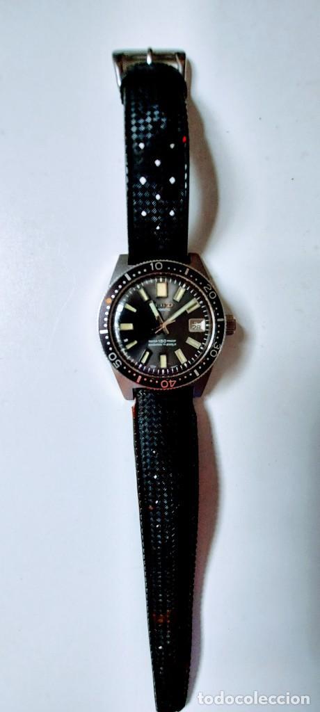 ANTIGUO Y PRECIOSO RELOJ AUTOMATICO DE SEIKO - FUNCIONANDO - 6217 8001 62MAS - EL PRIMER DIVER DE S (Relojes - Relojes Actuales - Seiko)
