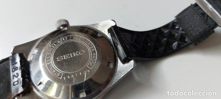 Relojes - Seiko: ANTIGUO Y PRECIOSO RELOJ AUTOMATICO DE SEIKO - FUNCIONANDO - 6217 8001 62MAS - EL PRIMER DIVER DE S - Foto 6 - 287244493