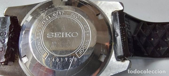 Relojes - Seiko: ANTIGUO Y PRECIOSO RELOJ AUTOMATICO DE SEIKO - FUNCIONANDO - 6217 8001 62MAS - EL PRIMER DIVER DE S - Foto 8 - 287244493