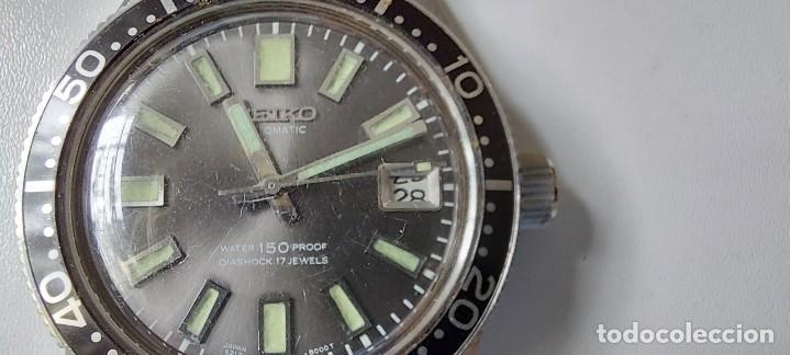 Relojes - Seiko: ANTIGUO Y PRECIOSO RELOJ AUTOMATICO DE SEIKO - FUNCIONANDO - 6217 8001 62MAS - EL PRIMER DIVER DE S - Foto 13 - 287244493