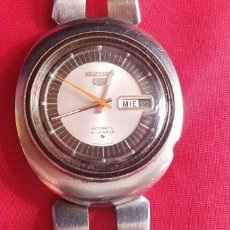 Relojes - Seiko: RELOJ SEIKO 5 AUTOMATICO 21 JEWELS FUNCIONA BIEN .MIDE 38.9 MM DIAMETRO. Lote 288927913