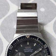 Relógios - Seiko: BONITO SEIKO CUARTZ CHRONOGRAPH SPORTS 100( ESTA PARA REPASAR). Lote 289704538