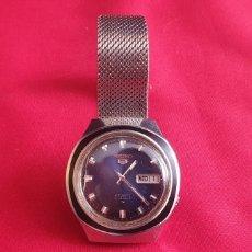 Relógios - Seiko: RELOJ SEIKO 5 AUTOMATICO 21 JEWELS FUNCIONA. MIDE 38 MMDIAMETRO. Lote 290655658