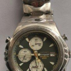 Relógios - Seiko: RELOJ SEIKO QUARTZ CHRONOGRAPH SPORTS 200 M, FUNCIONA.. Lote 292348243