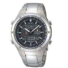 Relojes - Seiko: RELOJ SEIKO SPORTURA CHRONOGRAPH WORLD TIMER SNJ001P1. Lote 293476138