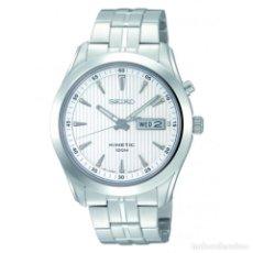 Relojes - Seiko: RELOJ SEIKO KINETIC SMY101P1 SILVER. Lote 293483943