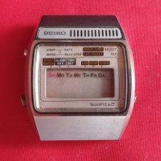 Relógios - Seiko: RELOJ SEIKO DIGITAL CUARZO LC NO FUNCIONA. MIDE 34.4 MM DIAMETRO. Lote 293566053