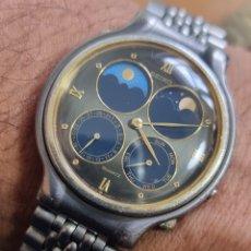 Relojes - Seiko: RELOJ COLECCIÓN VINTAGE SEIKO 7F18-7000 FASE LUNAR QUARTZ JAPAN.. Lote 295490883