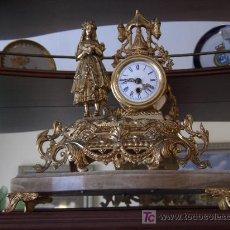 Relojes de carga manual: RELOJ MECANICO DE CUERDA PARA CHIMENEA, O SALON MADE IN GERMANY. Lote 3981170