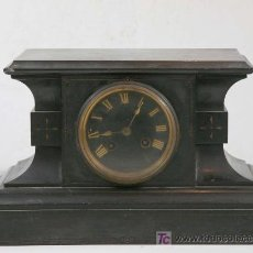 Relojes de carga manual: RELOJ EN MÁRMOL. S. XIX.. Lote 18776062
