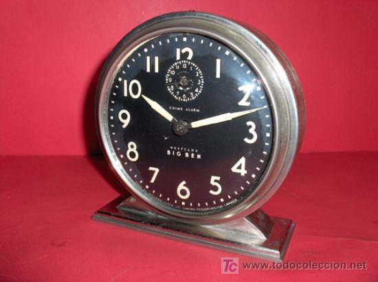 Relojes de carga manual: ,,,HAROLD,,,BIG BEN,,, - DESPERTADOR GRAN TAMAÑO,,, - Foto 2 - 23468184