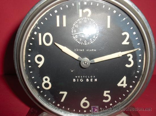 Relojes de carga manual: ,,,HAROLD,,,BIG BEN,,, - DESPERTADOR GRAN TAMAÑO,,, - Foto 3 - 23468184