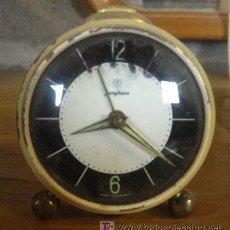 Relojes de carga manual: DESPERTADOR PEQUEÑO JUNGHANS, NO FUNCIONA. Lote 23736702