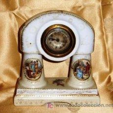 Relojes de carga manual: RELOJ DE PORCELANA AUSTRÍACA, TIPO VIENA. Lote 26681192