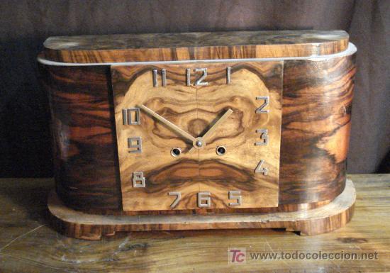 RELOJ DE SOBREMESA ART DÉCO (Relojes - Sobremesa Carga Manual)