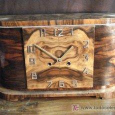 Relojes de carga manual: RELOJ DE SOBREMESA ART DÉCO. Lote 26385623