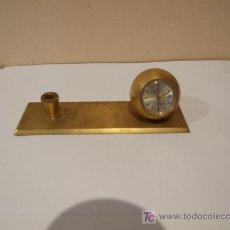 Relojes de carga manual: RELOJ SUIZO SOBREMESA DORADO MARCA AGON. Lote 27596664