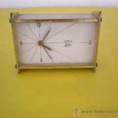 Relojes de carga manual: RELOJ DE METAL. Lote 9412961