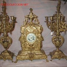 Relojes de carga manual: RELOJ DE BRONCE. Lote 27125623