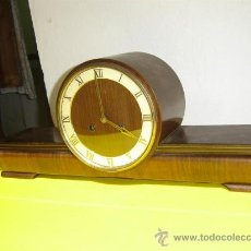 Relojes de carga manual: RELOJ DE SOBREMESA OSCURO. Lote 9850160