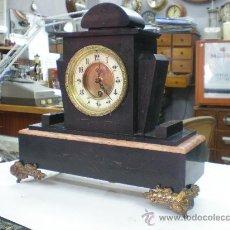 Relojes de carga manual: RELOJ MARMOL FRANCES SIGLO XIX. MOVIMIENTO SOLO.. Lote 27096753