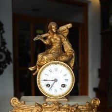 Relojes de carga manual: RELOJ LUIS XV EN CALAMINA DORADA REF.4362. Lote 13115185