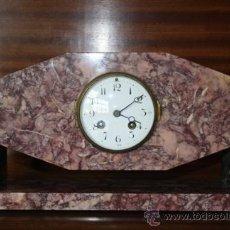 Relojes de carga manual: RELOJ ART DECÓ REF.1214. Lote 13163599